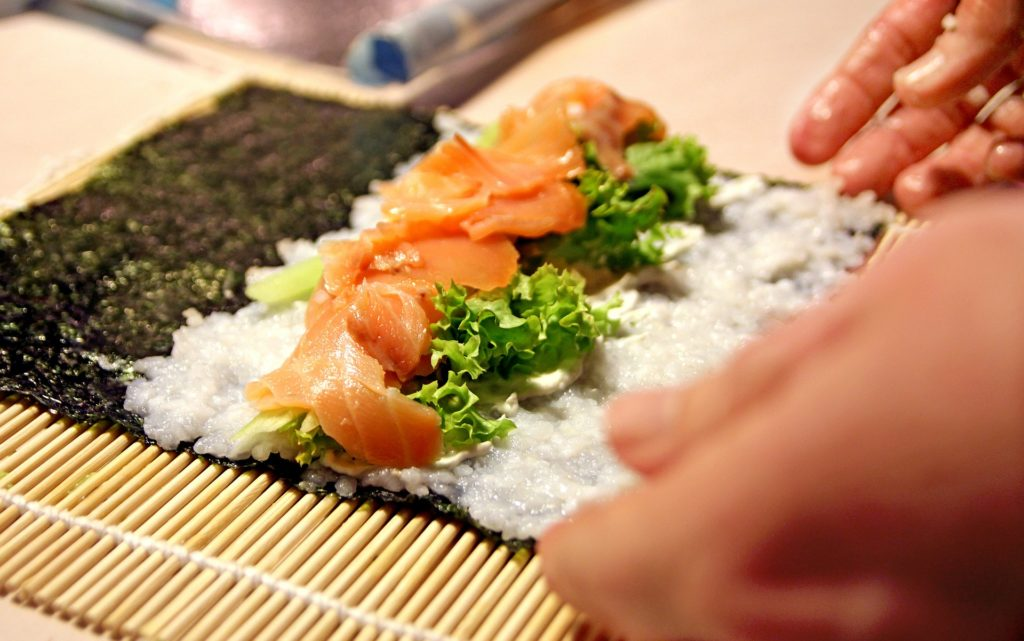 how to make sushi rice